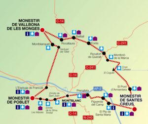 Mapa Ruta Cister